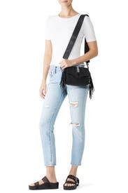 Black Joni Shoulder Bag by Rebecca Minkoff Accessories