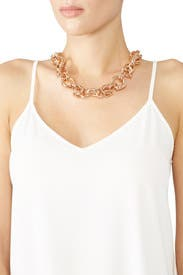 Hadley Chain Link Necklace by Area Stars
