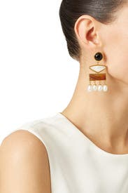 Coconut Grove Earrings by Lizzie Fortunato