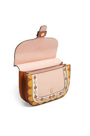 McGraw Patchwork Satchel by Tory Burch Accessories