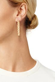 Rameses Drop Earrings by Eddie Borgo