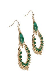 Gaia Green Agate Earring by Kendra Scott