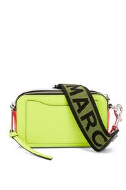Yellow Fluorescent Snapshot Bag by Marc Jacobs Handbags