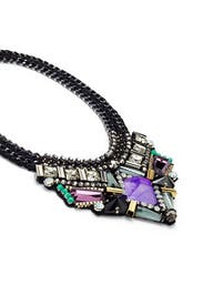 Azia Purple Necklace by Nocturne