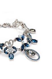 Floral Black Diamond Vine Necklace  by Oscar de la Renta