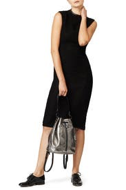Anthracite Cynnie Sling by Elizabeth and James Accessories