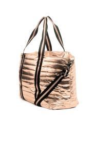 Rose Gold Wingman Bag by Think Royln