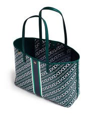 Green Gemini Link Tote by Tory Burch Accessories
