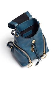 Blue Olga Backpack by See by Chloe Accessories