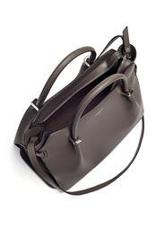 Grey Marche Satchel by Nina Ricci Accessories