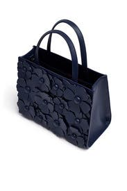 Navy Floral Sam Satchel by kate spade new york accessories