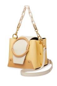 Mini Yellow Delila Bucket Bag by Yuzefi