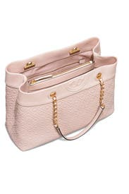 Pink Fleming Tote by Tory Burch Accessories