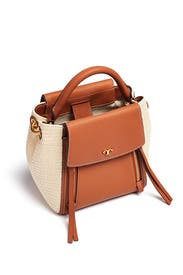 Half-Moon Straw Crossbody by Tory Burch Accessories