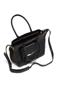 Black Medium Jo Tote by Times Arrow