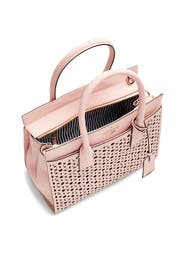 Perforated Pink Candace Satchel by kate spade new york accessories