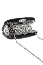 Sable Watersnake Clutch by Rebecca Minkoff Accessories