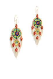 Multicolor Jennifer Earrings by Miguel Ases