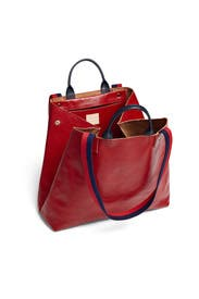 Red Le Big Sac Tote by Clare V.