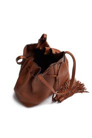 Almond Drawstring Unlined Bag by Rebecca Minkoff Accessories