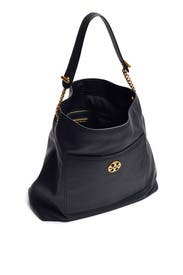 Black Chelsea Chain Hobo by Tory Burch Accessories
