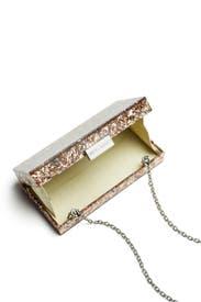 Rose Gold Box Minaudiere by Sondra Roberts