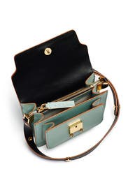 Tea Green Trunk Shoulder Bag by Marni Accessories