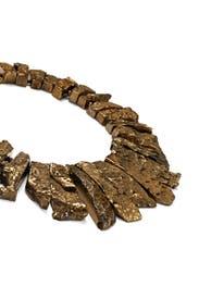 Gold Denari Necklace by Kenneth Jay Lane