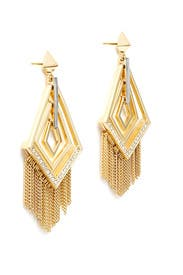 Cubist Fringe Earrings by Sarah Magid