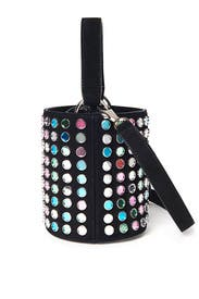 Baby Olivia Mirrored Bucket Bag by Les Petits Joueurs