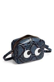 Python Mini Eyes Crossbody by Anya Hindmarch