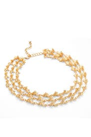 Gold Branch Necklace by Kenneth Jay Lane