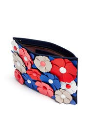 Multi Flower Sima Clutch by kate spade new york accessories