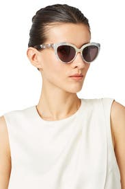 Ice Melange Round Sunglasses by Balenciaga Accessories